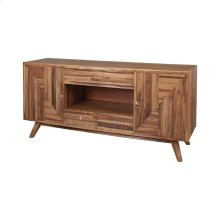 Teak Wood Credenza in Euro Teak Oil