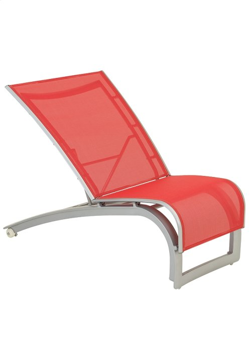 Flair Sling Recliner with Wheels