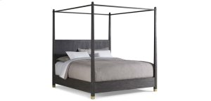 Palmer Canopy Mink Queen Bed