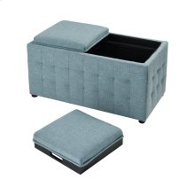 Reigel Sea Foam Linen Chair