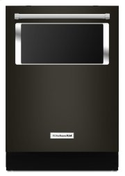 44 dBA Dishwasher with Window and Lighted Interior - Black Stainless Product Image