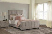 Sylvia Queen Bed - Luminata Silver
