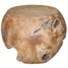Aisling Natural Wood Stool Product Image