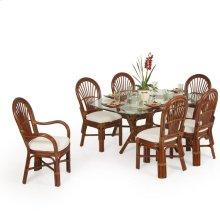 5500 Series 7 Piece Dining Set Pecan Glaze