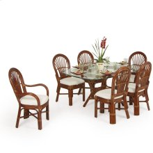 5500 Series 7 Piece Dining Set Pecan Glaze