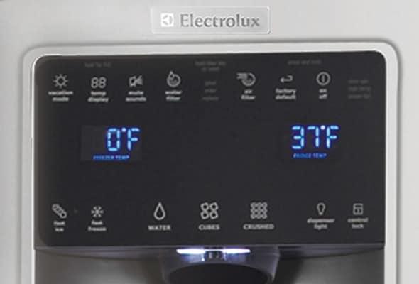Ei23cs35ks Electrolux Counter Depth Side By Side
