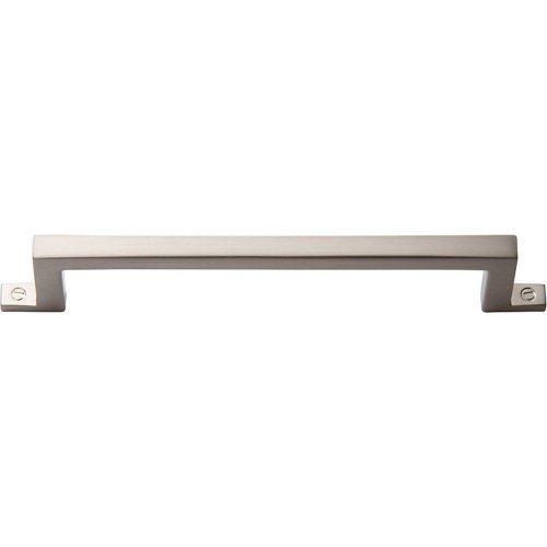 Campaign Bar Pull 5 1/16 Inch - Brushed Nickel