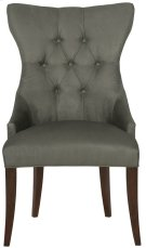 Deco Tufted Back Chair in Cocoa Product Image