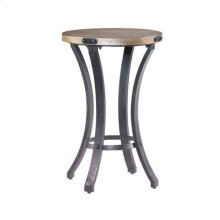 Hidden Treasures Round Accent Table