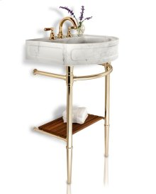 Harbor Washbasin Jamestown Sink Legs / Polished Brass Unlacquered