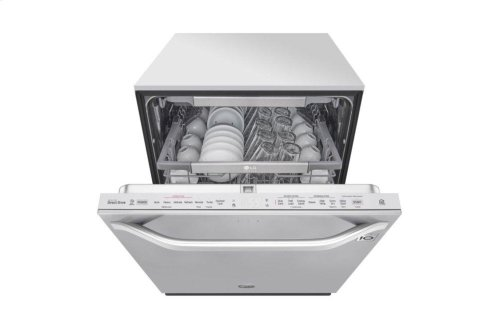 LG STUDIO Top Control Smart wi-fi Enabled Dishwasher with QuadWash