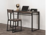 Dawn-20x74 3pc Blk Desk/chr Product Image