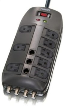 Philips Surge protector SPP1135WA 8 outlets