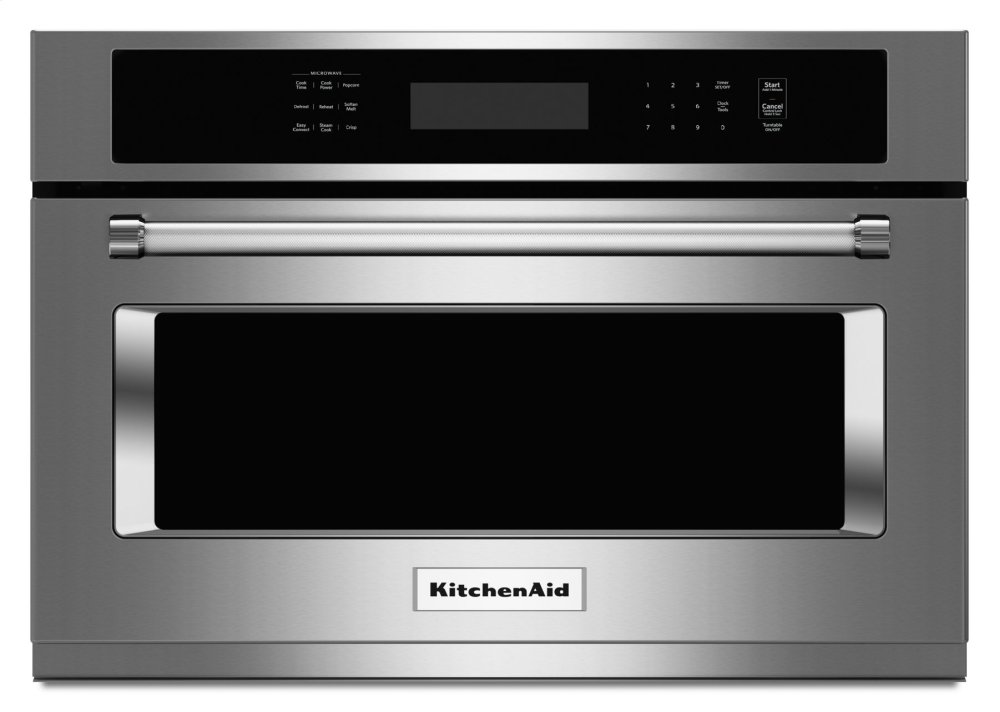 Kitchenaid 24 Built In Microwave Oven With 1000 Watt Cooking Stainless Steel Kmbs104ess
