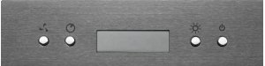 """Notte - 29-7/8"""" Black Stainless Steel Chimney Range Hood, 550 CFM"""