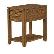 Downtown Chairside Table-Oak