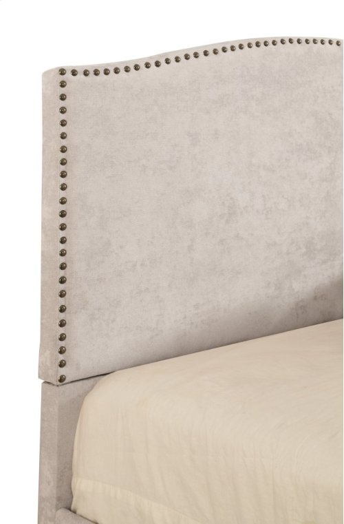 Emerald Home Colton Upholstered Bed Kit King Cream B126-12hbfbr-09-my