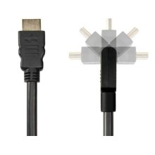 6.6' Pivoting HDMI Cable; Pivot connector and flexible cable