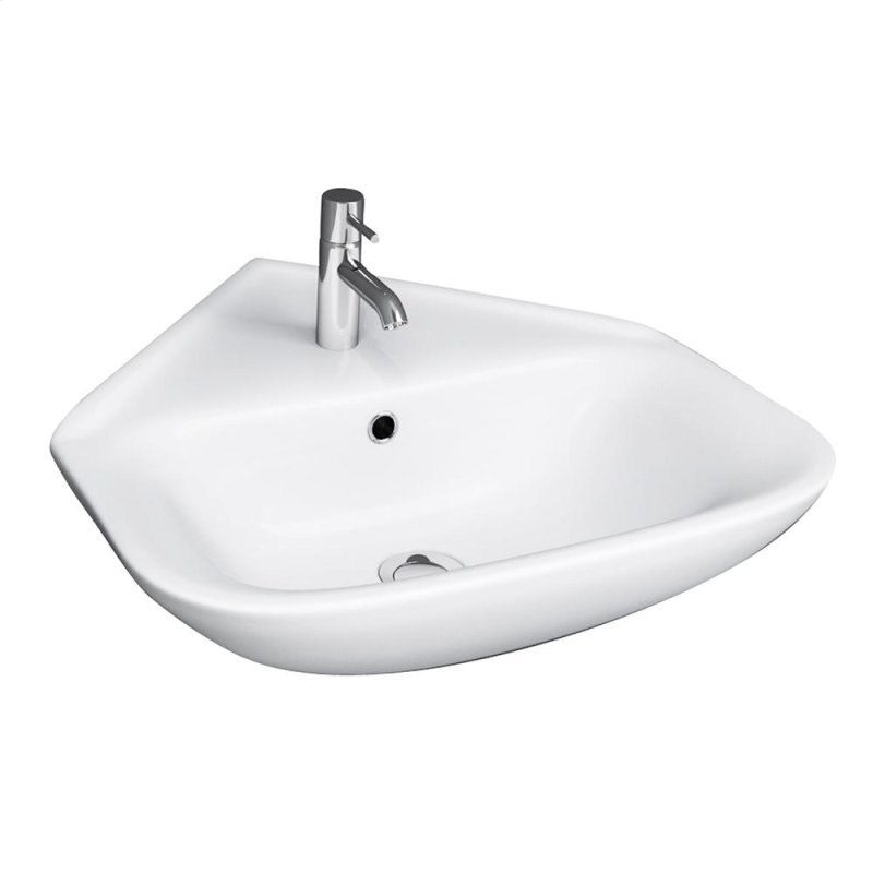 Barclay Hartford Pedestal Sink.41109wh In By Barclay In Denver Co Eden 450 Corner Wall Hung Basin
