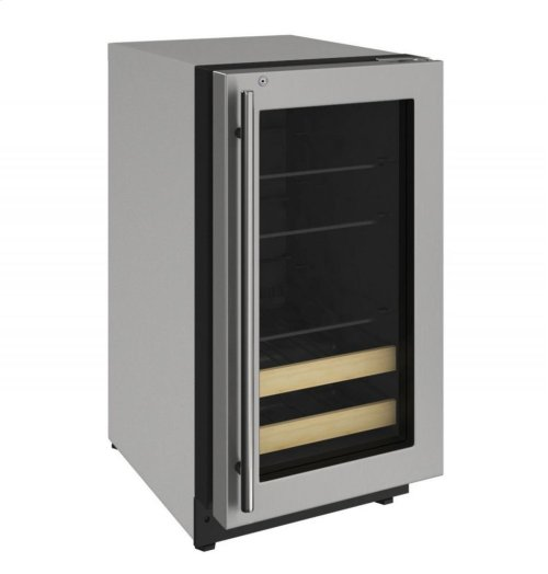 """2000 Series 18"""" Beverage Center With Stainless Frame (lock) Finish and Right-hand Hinged Door Swing"""