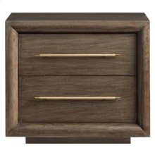 Panavista Panorama Nightstand in Quicksilver