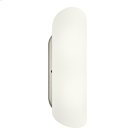 2 Light Fluorescent Wall Sconce - NI Product Image