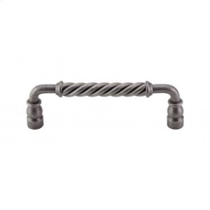 Twisted Bar Pull 6 Inch (c-c) - Pewter