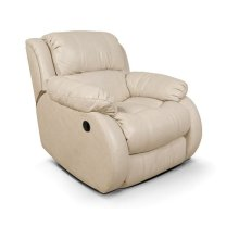 Leather Litton Swivel Gliding Recliner 201070L