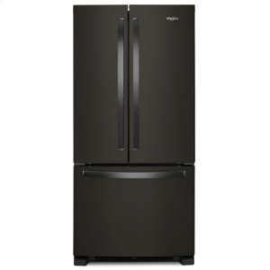 33-inch Wide French Door Refrigerator - 22 cu. ft. - FINGERPRINT RESISTANT BLACK STAINLESS