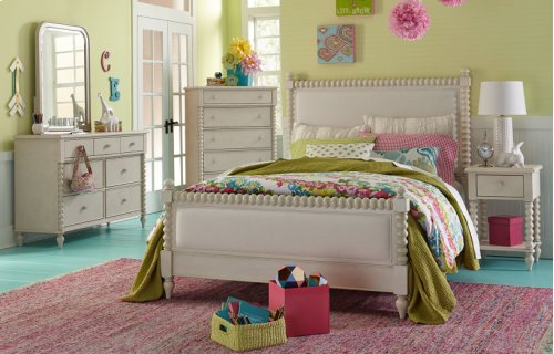 Grace Upholstered Bed, Twin 3/3