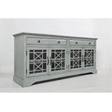 """Craftsman Earl Grey 70"""" TV Console"""