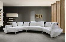 Divani Casa Jupiter - Modern Leather Sectional Sofa