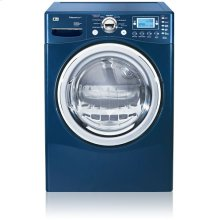 SteamDryer Gas Dryer with Trilingual Blue LCD Display