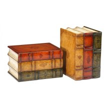 Pair of Faux Bookends