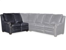 Pauley LAF Loveseat Recline At Arm w/Articulating Headrest