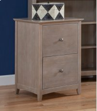 File Cabinet Taupe Gray Product Image