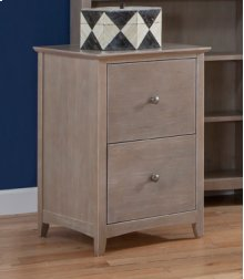 File Cabinet Weathered Grey