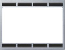 """27"""" Built-in Trim Kit for Convection Microwave HMT8750 - Stainless Steel"""