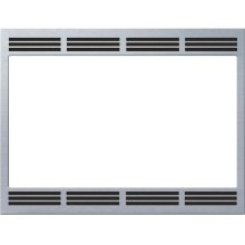 "27"" Built-in Trim Kit for Convection Microwave HMT8750 - Stainless Steel"