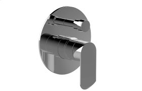 Phase Pressure Balancing Valve Trim with Handle and Diverter