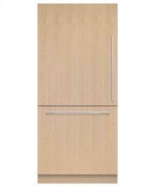 "Integrated Refrigerator Freezer, 36"", 16.8 cu ft, Panel Ready, Ice"