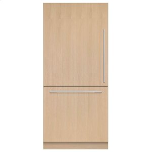 "Fisher & PaykelIntegrated Refrigerator Freezer, 36"", 16.8 Cu Ft, Panel Ready, Ice"