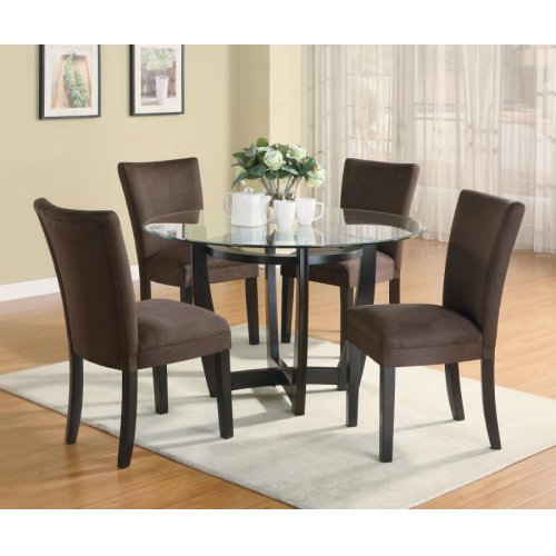 Bloomfield Cappuccino Round Dining Table Base
