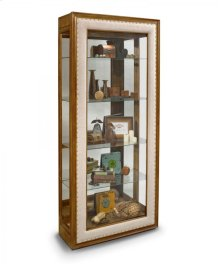 40152 EMERSON - WEATHERED OAK ACCENT CABINET