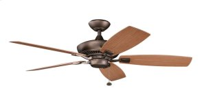 """Canfield Patio 52"""" Fan Weathered Copper"""