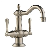 Tresa Two Handle Single Hole Lavatory Faucet