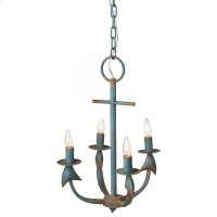 Anchor Chandelier. 25W Max. Hard Wire Only. Product Image