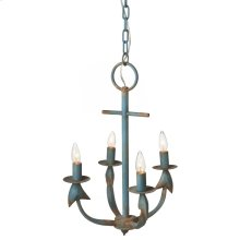 Anchor Chandelier. 25W Max. Hard Wire Only.