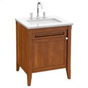 Vanity Unit - Maple with Walnut Stain