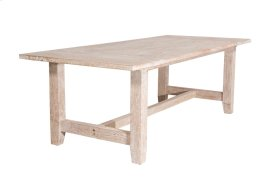Dining Table, Available in Washed Texture Finish Only.